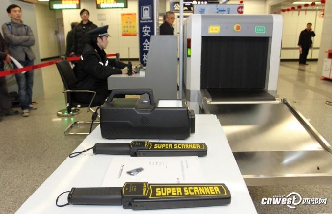 Low radiation X Ray Baggage Scanner , Knife Gun Detecting For Security Inspection