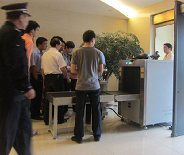 MCD X Ray Inspection Machine for Scanning Baggage at Government Buildings