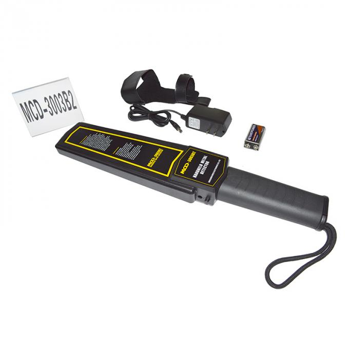 Low Battery Indication Super Scanner Handheld Metal Detector Widely Used Security Checking