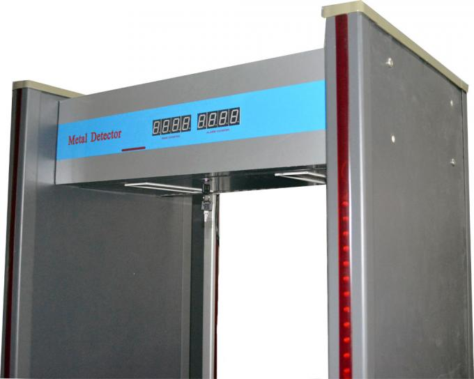 Waterproof 6 zones Walk through Metal Detector With remote controller