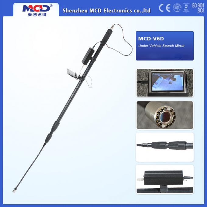 5 Inch Lcd Screen Under Vehicle Inspection Camera With Infrared Light Waterproof Function
