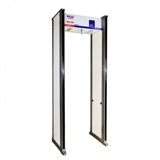 Security Archway Metal Detector Door MCD-500A For Gun Knife Weapon Detection in Aviation 0