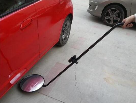 Lightweight Under Vehicle Inspection Camera / Under Vehicle Mirror Adjustable Rod Length