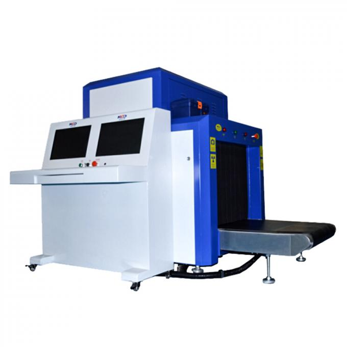 0.22m/S Conveyor Speed X Ray Baggage Scanner Machine Downward Generate Direct