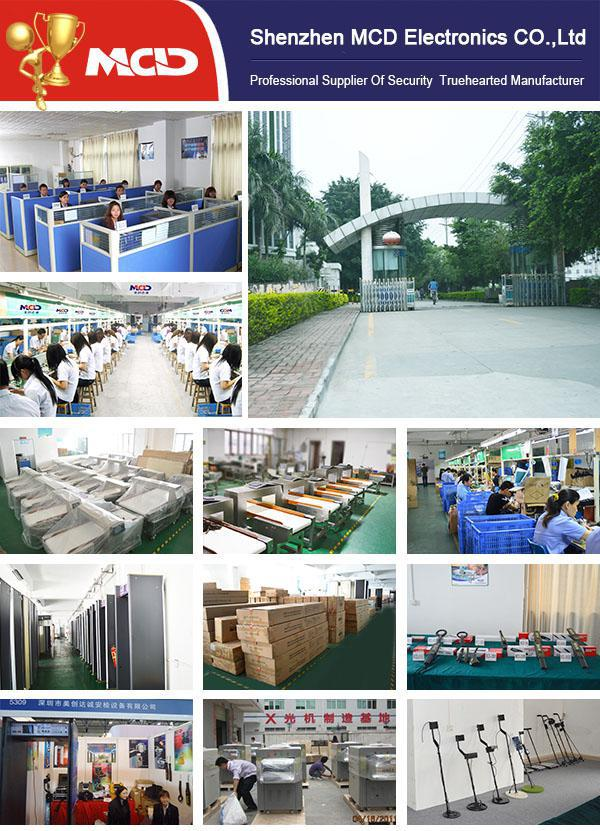 500*300 High Performance Tunnel Size Baggage Scanner Machine 500(W)*300(H)mm 3