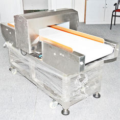 China 25 meter / mins Conveyor Belt Metal Detector for food processing industry supplier