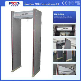 China 6 Zones Waterproof  Walk Through Metal Detector With Password Protected supplier