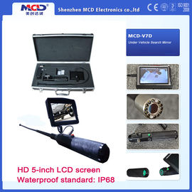 China 3200mAh HD 5 inch LCD Screen Under Inspection Mirror With Waterproof Camera supplier