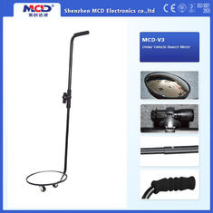 China Portable Vehicle Inspection Mirror , 30cm Convex Under Vehicle Search Mirror supplier