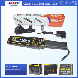 China High Performance Portable Hand Held Metal Detector For Airport / Station supplier