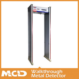 China 6 Zones 3d Metal Detector Gate Adjustable Sensitivity For Metro Station supplier