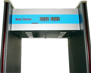 China 70 cm Width Walkthrough Metal Detector With Audio Alert and LED Location Lamp supplier