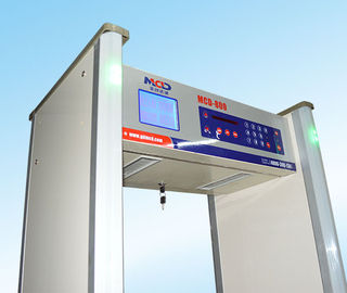 China Big Large Lcd Screen High Sensitivity Walk Through Gate 10 Detecting Lateral Zones supplier