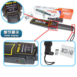 China Light Portable Best Sensitivity Handheld Metal Detector for Testing Weapon and Gun supplier