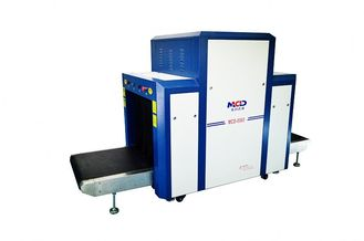 China Big Size 800*650mm X Ray Airport Baggage Scanner with 40mm Steel Penetrate supplier