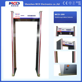 China Professional Manufacturer 6 Zones Walkthrough Metal Detector Indoor 6 zones supplier