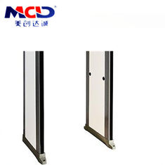 China Multiple Alarm Way Walk Through Gate 33 Zone Detection With Built In Password Protection supplier