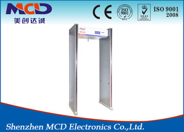 China Archway Muti Zone Walk Through Gate , MCD-600 lightweight metal detectors CE and ISO supplier