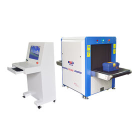 China Subway Railway Inspection X Ray Security Scanner Machine With 43 Mm Steel Penetration supplier
