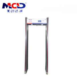 China High Sensitivity Intelligent Walk through Metal Detector Gates MCD-600 supplier