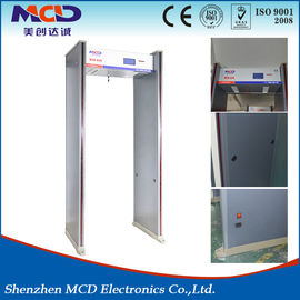 China Water Resistant Metal Detector Frame , Body Scanner Door MCD-600 High Detection Speed supplier