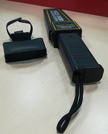 China Portable Handheld Metal Detector High Sensitivity 7mA For Full Body Checking supplier