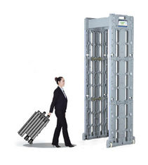 China IP67 Waterproof Airport Security Metal Detector Automatic Counting Highly Sensitive supplier