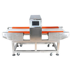 China Meat / Drink Conveyor Metal Detector Touch Screen , High Sensitive supplier