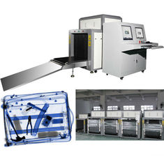 China Tunnel Metal Detector X Ray Luggage Inspection Equipment With Conveyor Belt supplier
