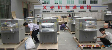 China Cargo Luggage X ray Baggage Scanner railway station Parcel Scanner Machine supplier
