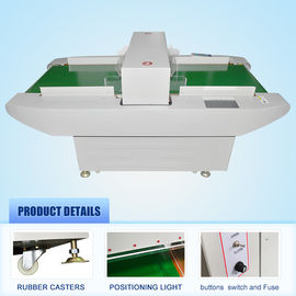 China Tunnel Food Metal Detector Equipment For Garment / Plastic Industry , 60cm Width supplier