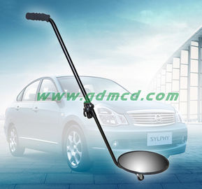 China Adjustable Vehicle Inspection Mirror 30cm Convex Mirror With LED Flashlight supplier