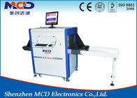 China MCD -6550 Airport X ray Scanner , X ray Baggage Scanner 34mm steel Penetration factory