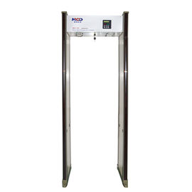 China Hotel Walk Through Door Frame Metal Detector for Security Check factory