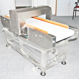 China 25 meter / mins Conveyor Belt Metal Detector for food processing industry distributor