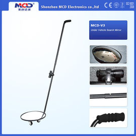 China 30cm Convex Acrylic Mirror Under Vehicle Inspector Camera With 51 Inch Handle distributor