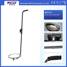 Portable Vehicle Inspection Mirror , 30cm Convex Under Vehicle Search Mirror