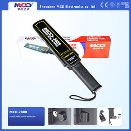 China Vibration Handheld Metal Detector 9v Battery , Audio Alert And Led Indicator distributor