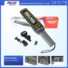 China Low Battery Indication Super Scanner Handheld Metal Detector Widely Used Security Checking distributor