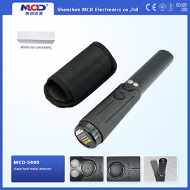 China Cylindrical Security Portable Metal Detector With 360° Detection Area distributor