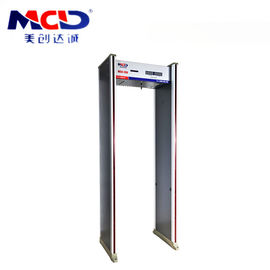 China 6 Zone High Sensitive Metal Detector For Detecting Important Places factory