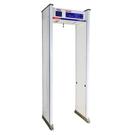 China Advanced Security Archway Metal Detector Door Frame Waterproof Big Screen Gates MCD-800 factory