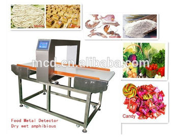 China Conveyor Belt food grade metal detector for Food Packaging And Processing Industry factory