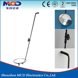 China Diameter 30cm Car Under Vehicle Inspection Mirrors With Torch For Security Checking factory