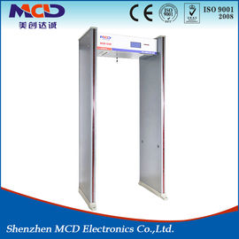 Water Resistant Metal Detector Frame , Body Scanner Door MCD-600 High Detection Speed