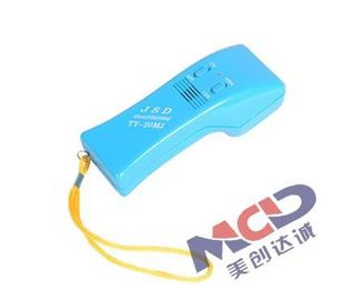 China Portable Hand held Needle Detector Applied to Industry Area with 9V fold Battery factory