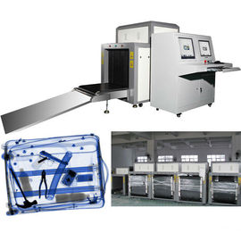 China Tunnel Metal Detector X Ray Luggage Inspection Equipment With Conveyor Belt factory
