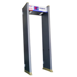 China Walk Through Security Metal Detectors Muti Zone Alarm Door Frame Waterproof factory