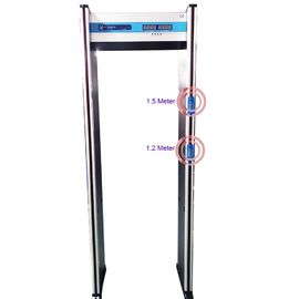 buy High Sensitivity Walk Through Metal Detector Body Temperature Scanner MCD500 online manufacturer