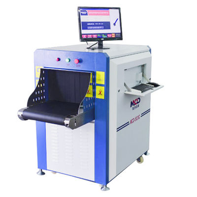 High Resolution Color Airport X-Ray Scanning Machines Small Size Airport/Station/Prison security inspection system